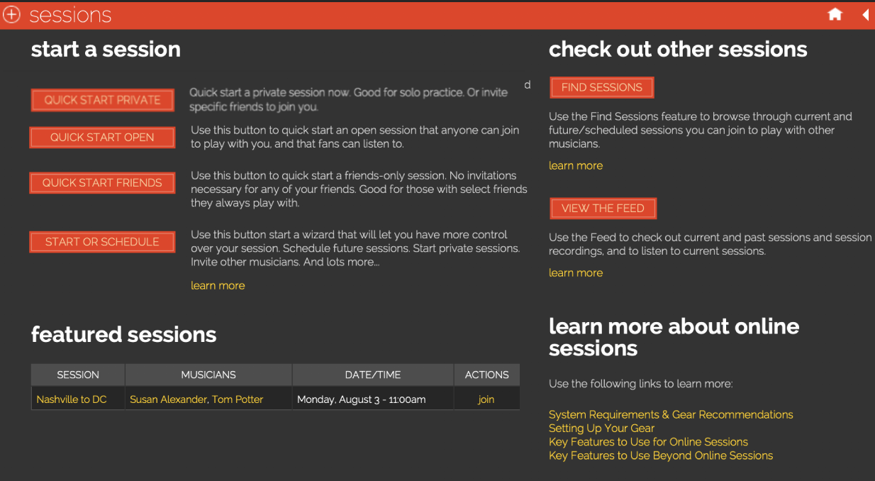 featured session